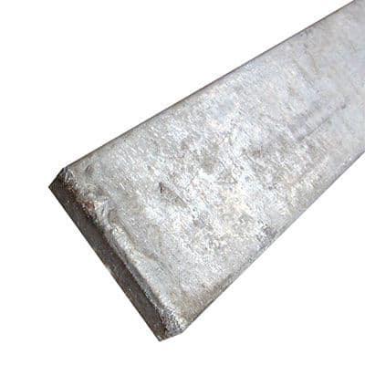 Galvanised Weather Bar - 25 x 6 x 1000mm