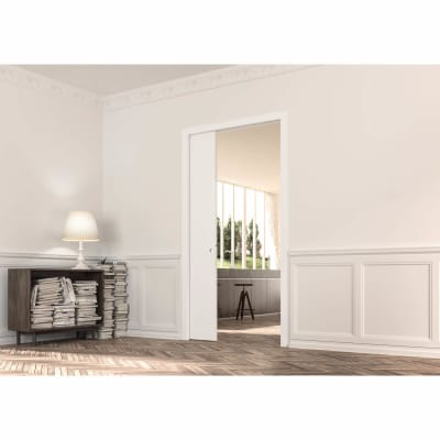 Eclisse Single Pocket Door Kit - 100mm Finished Wall - 1026 x 2040mm Door Size