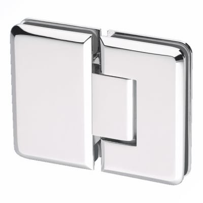 Glass to Glass Shower Hinge - 180° - 10mm Glass