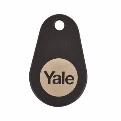 Yale Keyless Nightlatch Key Tag - Black - Pack 2