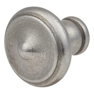Crofts & Assinder Nottingham Iron Cabinet Knob - 40mm - Iron Lacquer