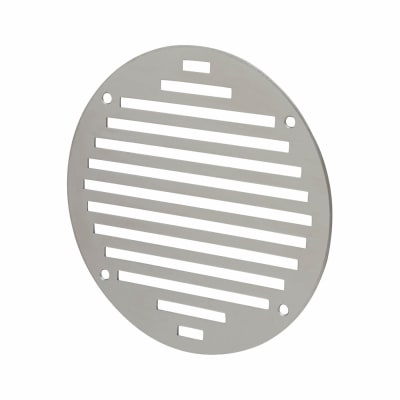 Circular Slotted Vent - 152mm - 6212mm2 Free Air Flow - Polished Stainless Steel