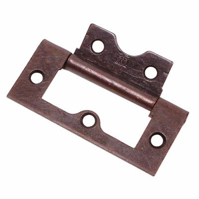 Flush Hinge - 75mm - Bronze - Pack 20
