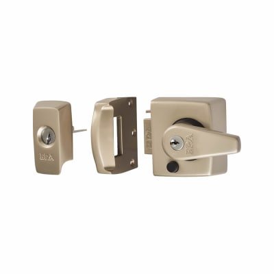 ERA® BS3621:2007 Double Locking Nightlatch - 40mm Backset - Satin Nickel