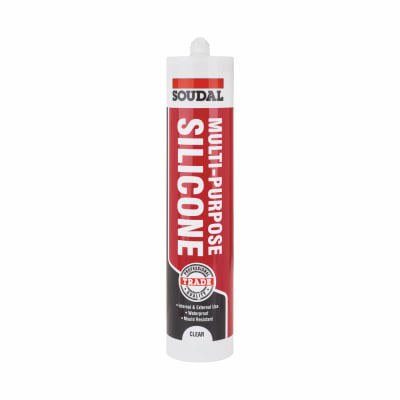 Soudal Multi-Purpose Silicone - 300ml - Clear