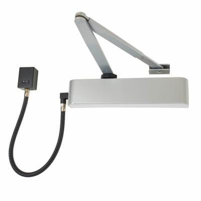 Exidor 9870 Electromagnetic Door Closer - Silver
