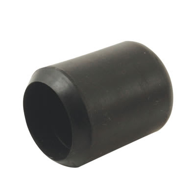 Rubber Chair Ferrules - 19mm - Black - Pack 50
