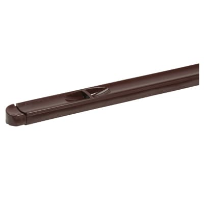 Trimvent XR16 - uPVC/Timber - Window Vent - Recessed - 352 x 16mm - Brown