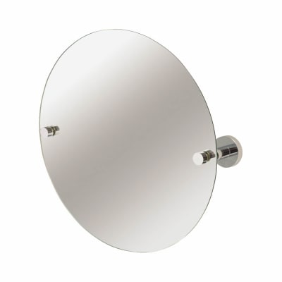 Croydex Romsey Bathroom Mirror - 380 x 380 x 90mm -  Polished Chrome