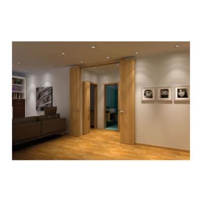 KLÜG Compack Living 180C Folding Door System - Max Passage Width 1000mm - Right Hand