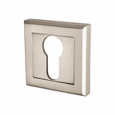 Elan Escutcheon - Euro - Satin Nickel