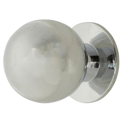 Touchpoint Ball Cabinet Knob - 18mm - Polished Chrome