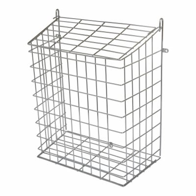 Letter Cage - 360 x 295 x 150mm - Polished Chrome