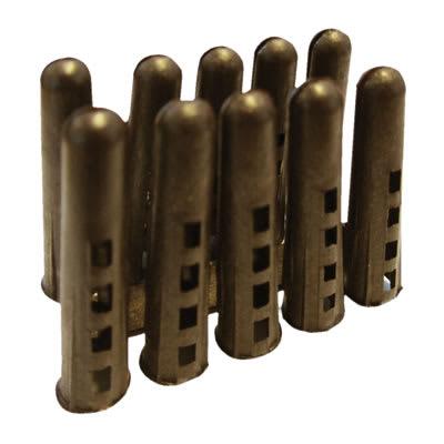 Rawlplug HDPE Plug - Brown - Pack 1000