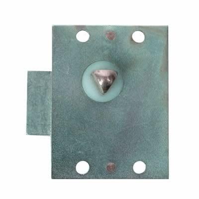 Slam Lock - 55 x 42mm - Left Hand - Zinc Plated