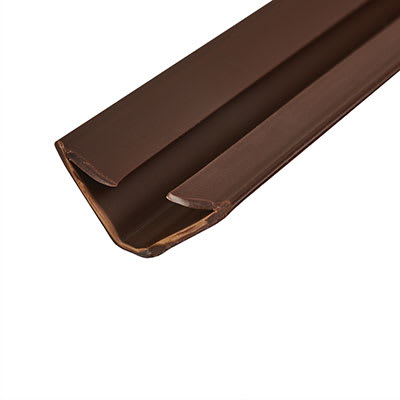 Lorient IS1515 Batwing Acoustic and Smoke Seal - 15 x 15 x 2100mm - Dark Brown - Pack 5