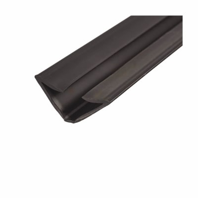 Lorient IS1212 Batwing Acoustic and Smoke Seal - 12 x 12 x 2100mm - Black - Pack 5