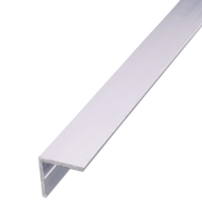 2500mm Equal Sided Angle - 35.5 x 35.5 x 2.4mm - Raw Aluminium