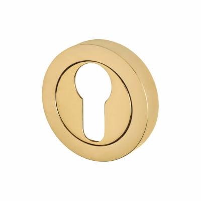 Reguitti Escutcheon - Euro - PVD Brass