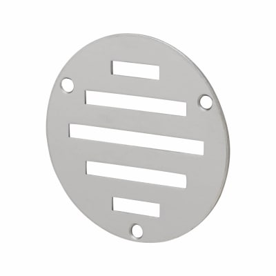 Circular Slotted Vent - 76mm - 900mm2 Free Air Flow - Polished Stainless Steel