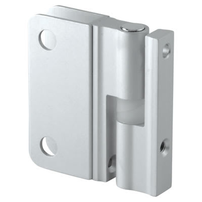 Premier Self Closing Hinge - Satin Anodised Aluminium - 12-13mm Panels