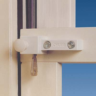 Yale® 8K114 High Security Sash Window Lock - White