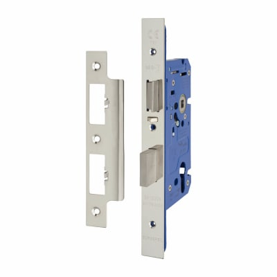A-Spec Architectural DIN Euro Escape Sashlock - 85mm Case - 60mm Backset - Polished Stainless