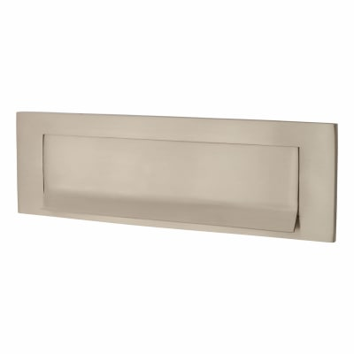Morello Lipped Letter Plate - 257 x 80mm - Satin Nickel