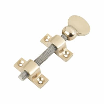 Top Mounted Sash Screw - 76mm - Satin Nickel