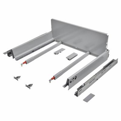 Blum TANDEMBOX ANTARO Pan Drawer - BLUMOTION Soft Close - (H) 203mm x (D) 450mm x (W) 800mm - Grey