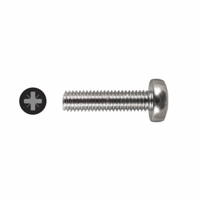 Machine Screw - Pan Head - M5 x 20mm - Pack 25