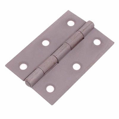 Steel Hinge - 100 x 67mm - Sheradised - Pair