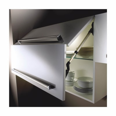 Blum AVENTOS Bi-Fold HF Mechanism - Cabinet Door Lift - Light Duty - Power Factor (LF) 2600-5500
