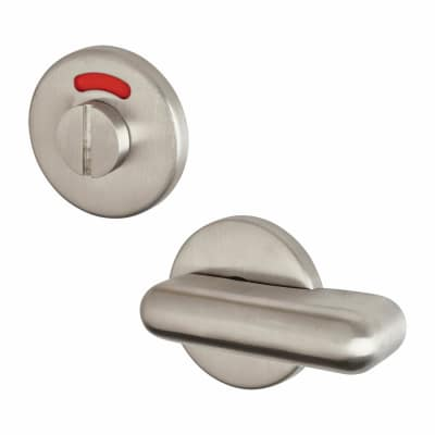 Altro Disabled Bathroom Turn & Release - Suit 8mm Spindle - Satin Stainless Steel