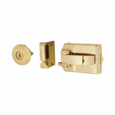 Ingersoll SC71 Nightlatch - 60mm Backset - Polished Brass