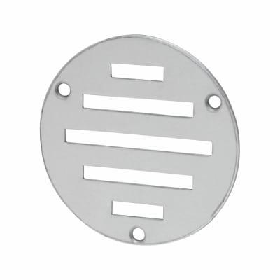 Circular Slotted Vent - 76mm - 900mm2 Free Air Flow - Satin Aluminium