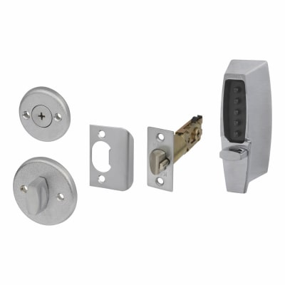 Kaba Unican Light Duty Mechanical Code Lock - Satin Chrome