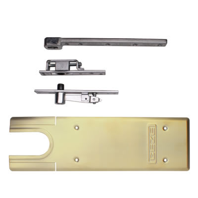 GEZE TS550NV Accessory Pack - Double Action - Polished Brass