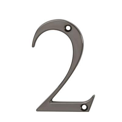 76mm Numeral - 2 - Bright Bronze