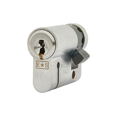 Eurospec MP15 - Euro Single Cylinder - 32 + 10mm - Satin Chrome  - Master Keyed