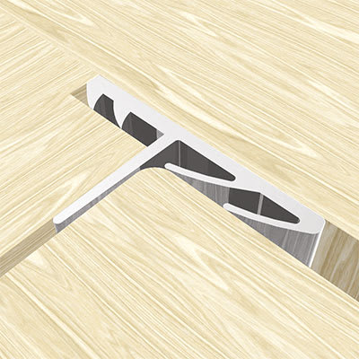 Norsound 710SR Perimeter Seal - 2100mm - White - Pack 5