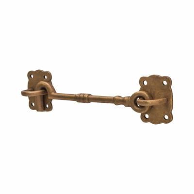 Louis Fraser Cabin Hook & Eye - 152mm - Oil Rubbed Bronze