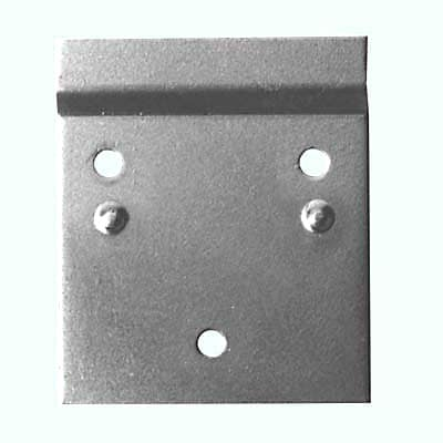 Offset Wall Plate - 70 x 60mm - Zinc Plated Steel - Pack 10