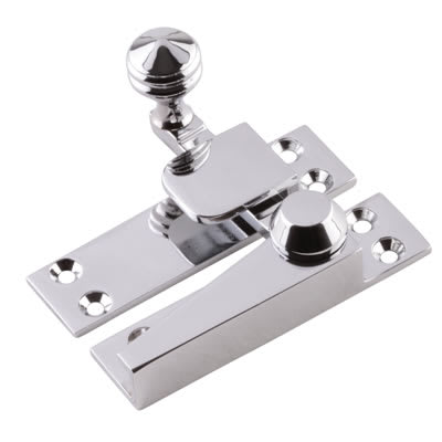 Heavy Quadrant Arm Fastener - 70mm - Polished Chrome
