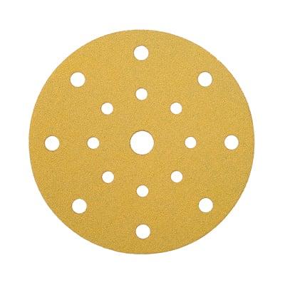Mirka Gold Discs 17 Hole Multi Format - 125mm - Grit 120 - Pack 50