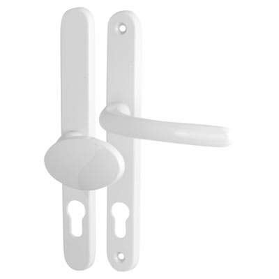 Fab & Fix Balmoral - Multipoint Handle - uPVC/Timber - Lever/Pad - 92/62mm centres - White
