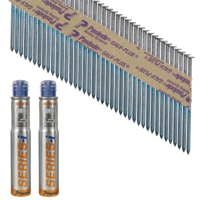Paslode IM90I Nail - First Fix - 90 x 3.1mm - HDGV - Pack 2200
