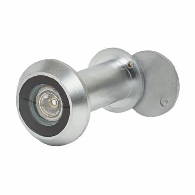 Wide Angle 200 Degree Door Viewer - Door Thickness 35-55mm - Matt Nickel