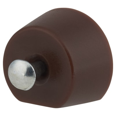 Flat Sided Pin Shelf Support - 15mm - Brown - Pack 50