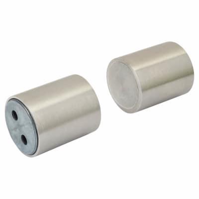 Magnetic Door Holder - 35 x 30mm - Stainless Steel